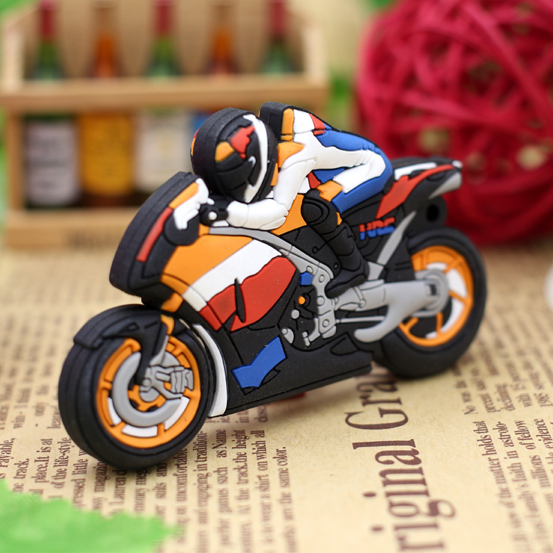 Motorcycle-Cartoon-Pen-Drive